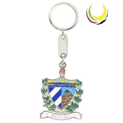Amazon.com: Keychain CUBA ESCUDO NACIONAL: Everything Else