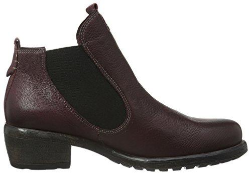 Think Liab, Zapatillas de Estar por Casa para Mujer Rojo - Rot (CHIANTI/KOMBI 35)