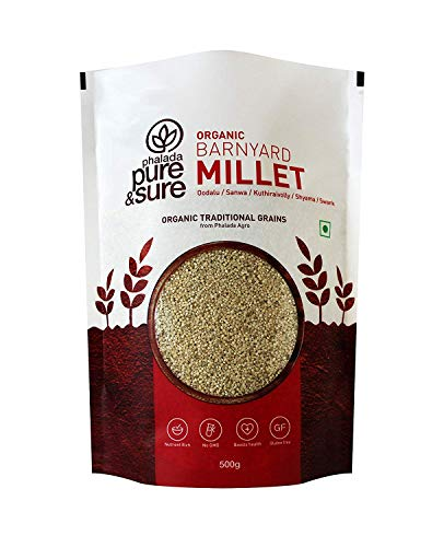 Pure & Sure Organic Barnyard Millet, 500gBy Ethnic Choice