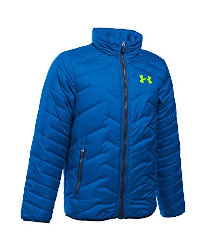 Under Armour Boys' ColdGear Reactor Jacket, Ultra Blue (907), Youth Large