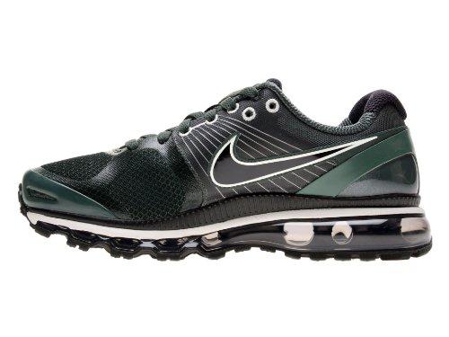 Nike Air Max + 2010 Hommes Grv-vert / Noir Lumière / Vert Clair