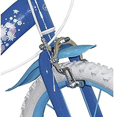 TOIMS Reina de Las Nieves: Bicicleta para niña, Color Azul, tamaño ...