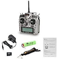 FrSky Taranis X9D Plus Transmitter with Mode2 and Aluminum Case for FPV Quadcopters