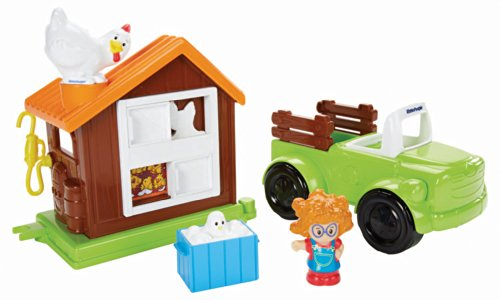 Fisher Price Little People Farm Truck And Coop Buy
