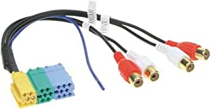 CSB Line Out Adapter - Adaptador para cable (Mini-ISO, Mini-ISO jack to 4 RCA, Multicolor)