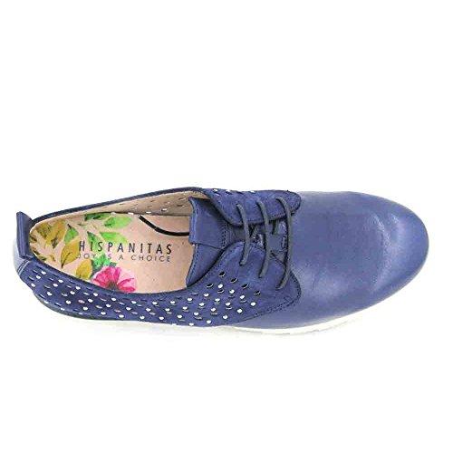 Mujer Hispanitas Bali Marino Zapatos V8 HV87014 de 37 qSB4Uq