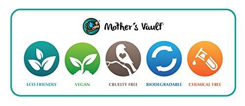 Mother's Vault Biodegradable, Eco-Friendly Bamboo Toothbrush (Children's 6inch) w/ BPA-Free Soft Nylon Bristles - Natural Dental Care for Men & Women (4 Toothbrushes) by Mother's Vault (Image #6)