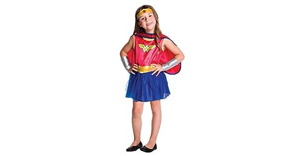 Amazon.com: DC Comics bebé Girls Wonder Woman – Disfraz para ...