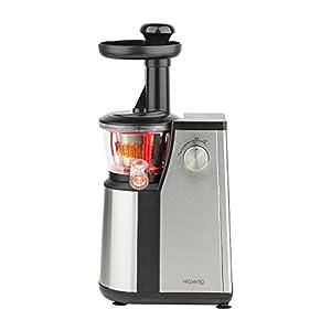 H.Koenig GSX12 Estrattore di Succo a Freddo, 60 giri/min, Frutta e verdura, Spremitura Lenta, Acciaio Inox, BPA Free, 1L, 400W - 2021 -