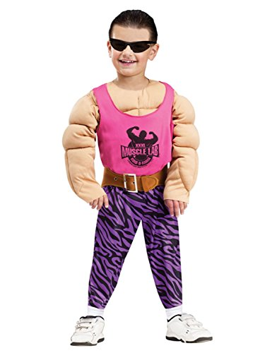 Toddler Totally Pumped Muscle Costume, Large 4-6 -
