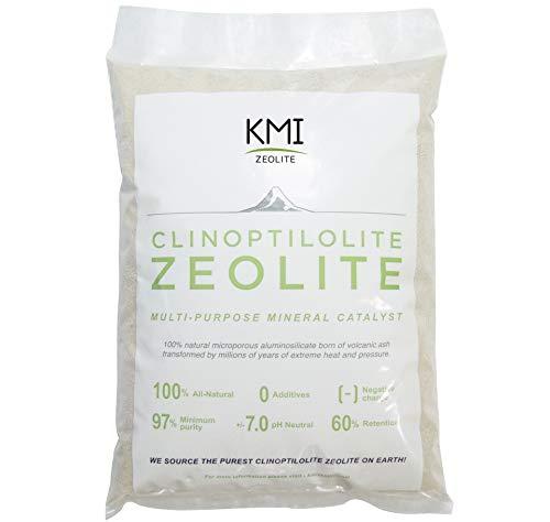 KMI Zeolite Powder, 100% Natural Soil Amendment for Farming, Gardening, Golf Courses, Turfgrass 1lb
