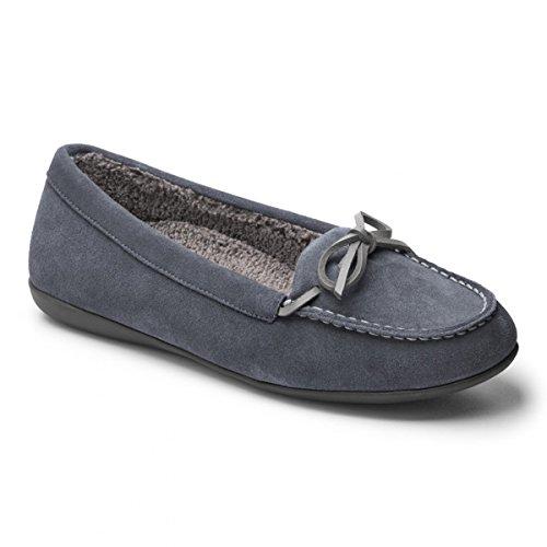 Vionic Womens Ida Slipper Grey Size 9
