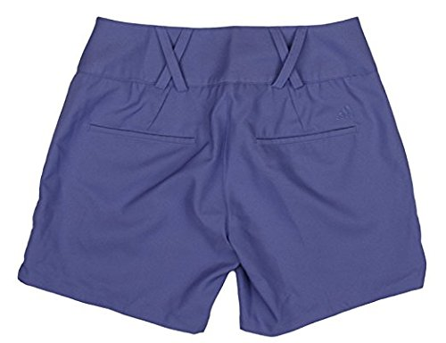 adidas Womens Climalite Solid Color Shorts (Womens Size 10, Lavender)