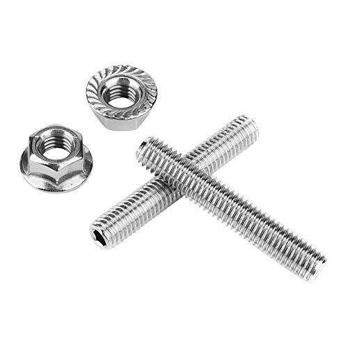 Cuque Exhaust Manifold Stud and Nut Stainless Steel Header Bolt Kit for Honda Acura