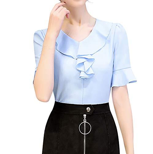 Vectry Camisetas Cortas Mujer Camiseta Mujer Manga Corta ...