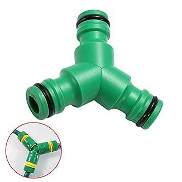 Hahnanschluss grün aus Kunststoff
