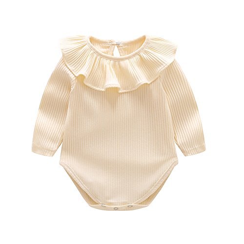 Ding-dong Baby Girls Cotton Long Sleeve Romper