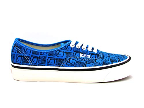 Vans Sneakers Authentic 44 DX Blu Bianco Fantasia 8ENU68 (40.5 - Blu)