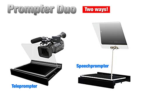 Prompter Duo Speech Prompter teleprompter