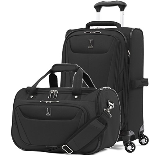 - Travelpro Luggage Maxlite 5 | 2-Piece Set | Soft Tote and 21-Inch Spinner (Black)