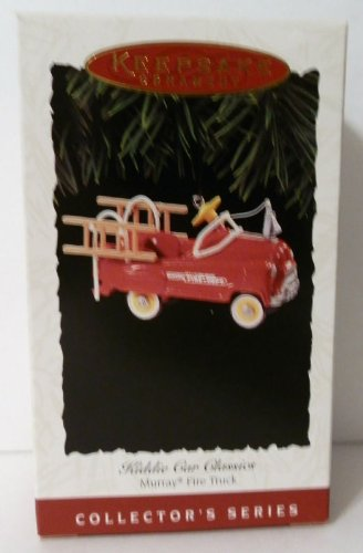 Hallmark Keepsake Ornament - Kiddie Car Classics Murray Fire Truck (1995) - Wheel Fire Mall