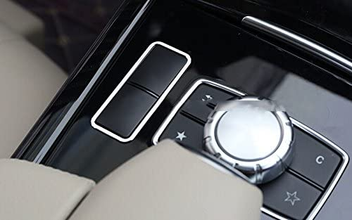 Inner Front Air vent outlet Cover trim 2pcs For Mercedes Benz E Class W212 10-15