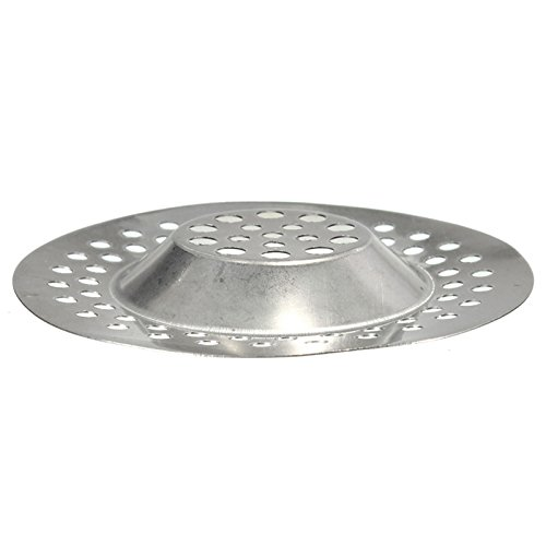 Stainless Steel Standard Strainer Drain Protector from Clog for Bathroom Kitchen Shower WJA Portable Drain Hair Catcher 3 inches
