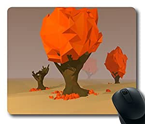 """Awesome Low Poly Standard Mouse Pad Oblong Design Mousepad in 220mm*180mm*3mm (9""""*7"""") -102109 by ruishername"""