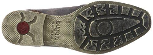 Bugatti Men's 312110601500 Loafers, 1100-Dark-Grey Grey (Dark Grey 1100)