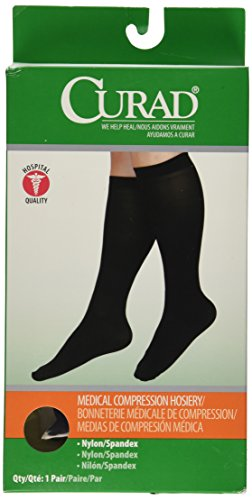 Medline Curad Knee High Compression Hosiery
