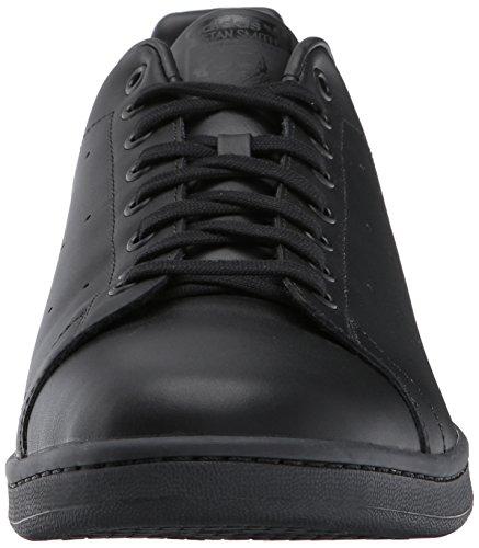 adidas Herren Originale Stan Smith Sneaker Schwarz / Schwarz / Schwarz