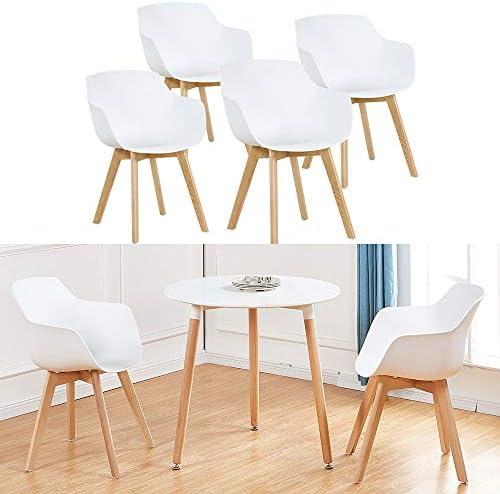 Color Plateado Cromado 4 Patas para sof/ás Muebles sillones Modelo Swing Altura 150 mm Juego de 4 Patas de Hierro Dise/ño Moderno y Elegante