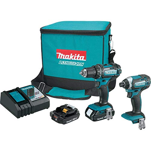 Makita CT225R 18V LXT Lithium-Ion Compact Cordless 2-Pc. Combo Kit 2.0Ah