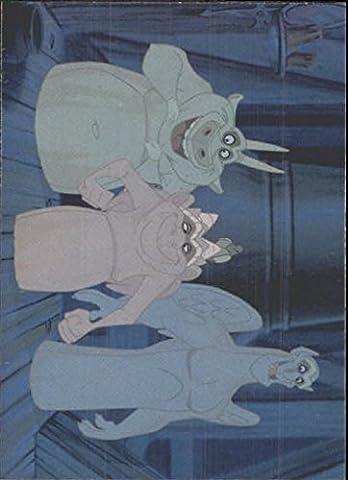 1996 Hunchback of Notre Dame Fleer #4 Three Funny Gargoyle Pals - NM-MT (Funny Gargoyles)