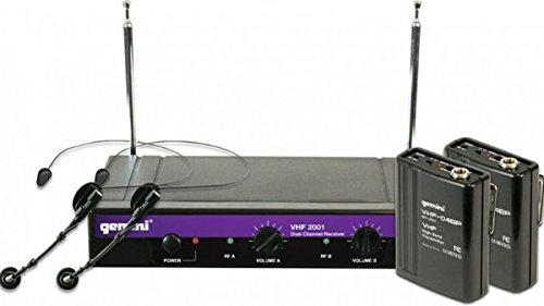UPC 747705205858, Gemini DJ VHF2001HLS48 Handheld Wireless Microphone