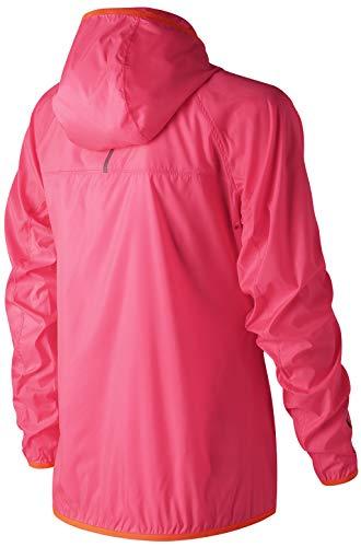 New Balance - Veste de Sport - Femme Rose Fluo Pink - Rose - M  Amazon.fr   Vêtements et accessoires 38a32064ff4