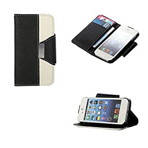 iPhone 4 4s Case, KAIDON (TM) High Quality PU Leather Case for Apple iPhone 4 4s 4G (Black)