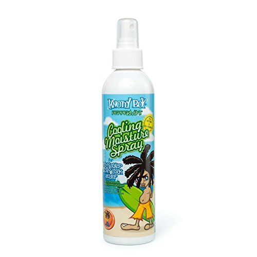 Knotty Boy Peppermint Cooling Spray 8oz (Boys Spray)