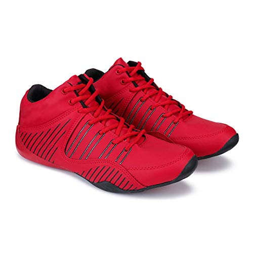 Bersache Training Shoes,Walking Shoes,Gym Shoes,Sports Shoes, Running Shoes for Men,Cricket Shoes,Hocket Shoes,Vollyboll Shoes, Comfortable for Men's/Boy's(Black-3066) Price & Reviews