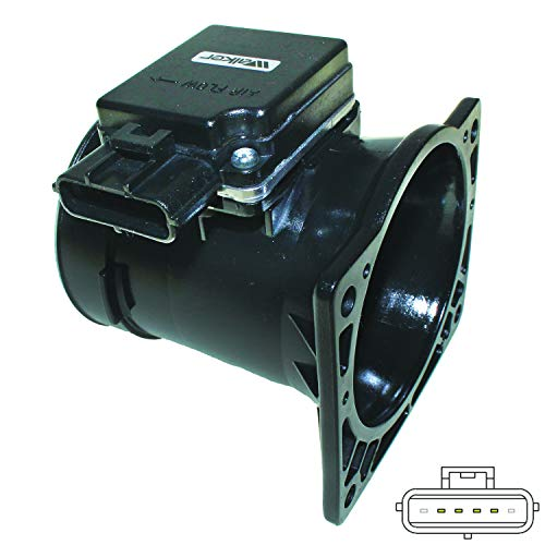 Walker Products 245-1029 Mass Air Flow Sensor Assembly (1998 Ford Taurus Mass Air Flow Sensor)