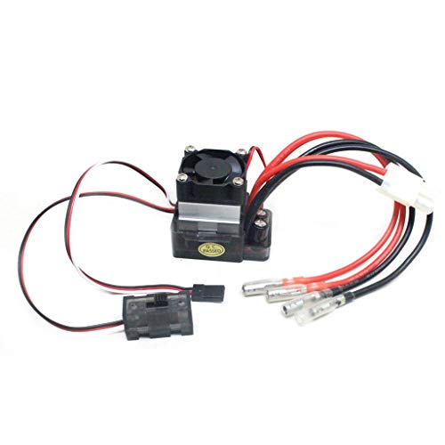 RC 320A Truck Car Boat Brushed Accessories - GorNorriss Helicopter New 7.2V-16V 320A High Voltage ESC Brushed Speed Controller Compatible with RC Truck Car Boat