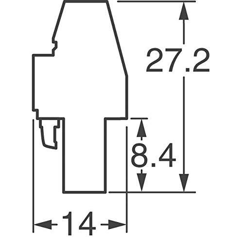 TERM BLOCK PLUG 6POS 90DEG 5MM (Pack of 5)