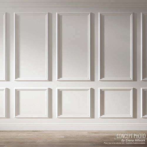 Amazon Com Ekena Millwork Pnl16x20as 02 16 W X 20 H X 1 2 P Ashford Molded Scalloped Wainscot Wall Panel Home Improvement
