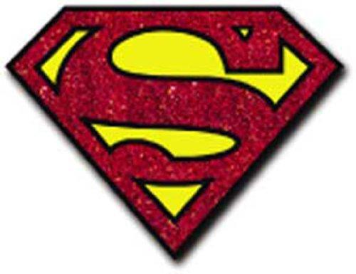 Licenses Products DC Comics Originals Superman Glitter Sticker]()