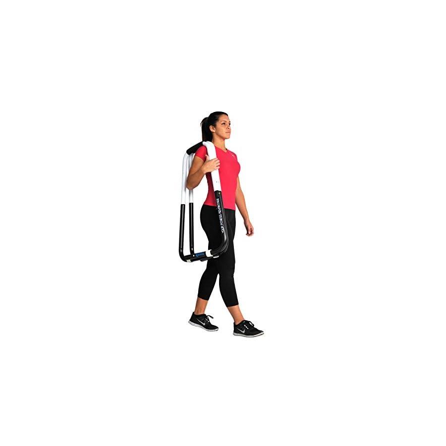 Ultimate Body Press Dip Bar Fitness Station