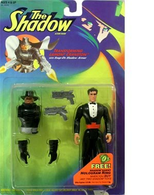The Shadow Transforming Lamont Cranston Action - Lehigh Stores Valley