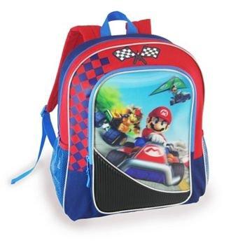 "Price comparison product image Mario Kart Wii U Mario,  Bowser,  and Luigi 16"" Backpack"