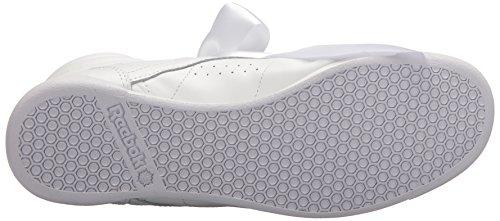Reebok Donne F / S Raso Hi Arco Sneaker Bianco / Grigio Cranio