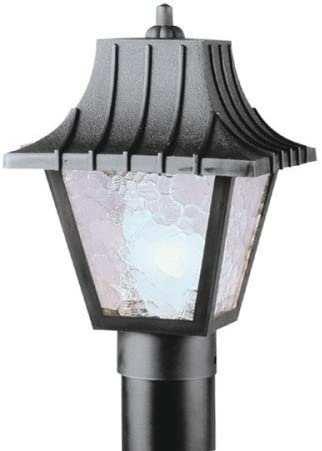 Westinghouse Post Top Lantern A19 8 In. Blk Bx