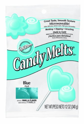 Wilton 16911-1352 Blue Candy Melts, 12-Ounce (Blue Chocolate Melts compare prices)